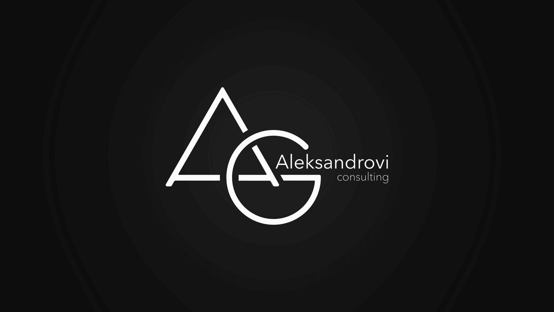 aleksandrovi consulting logo design