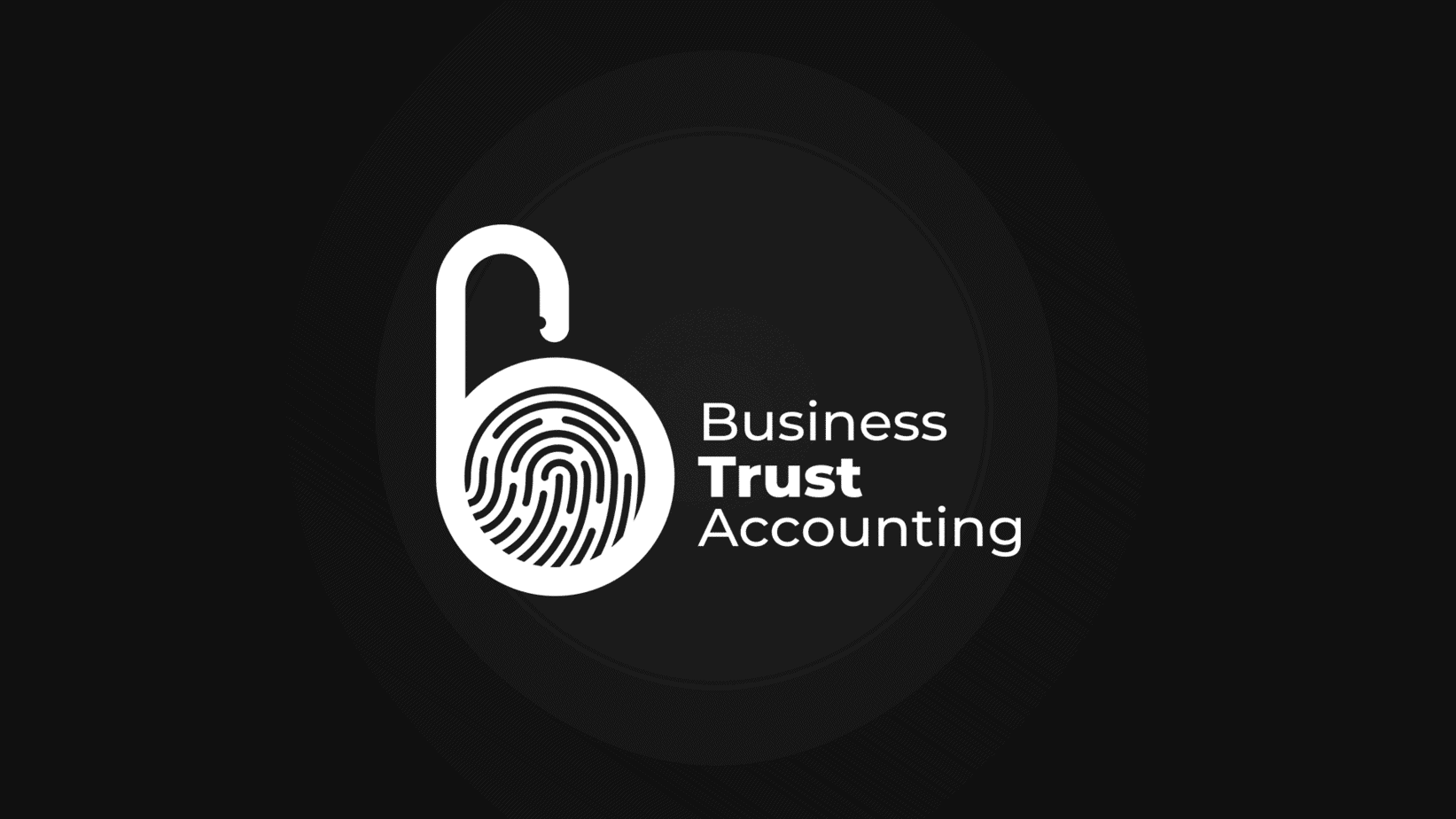 business trust accounting logo design