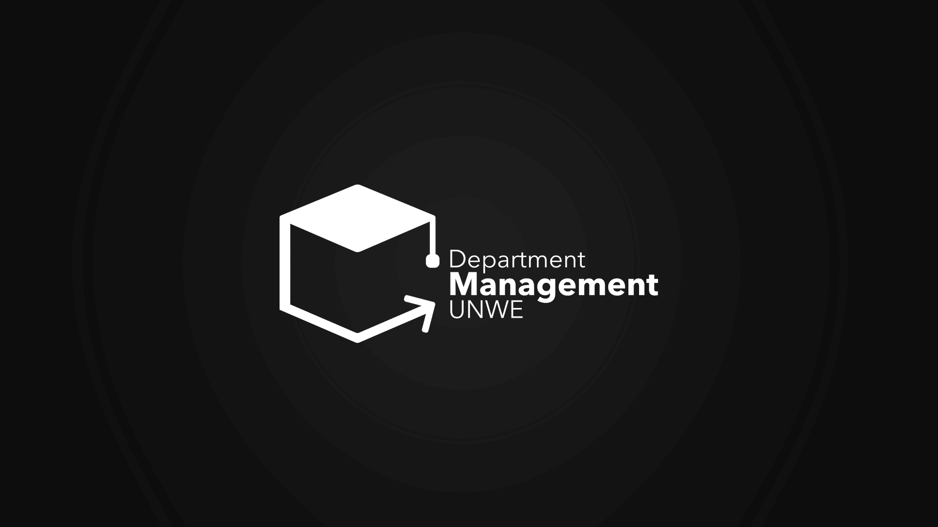 UNWE department Management logo / УНСС Катедра Управление